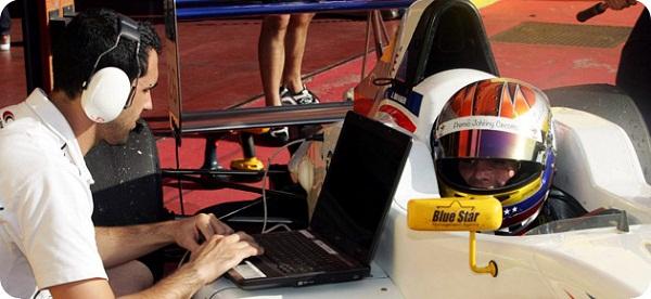 Juan Andrés Branger se alista para la pretemporada 2013 del NEC de Fórmula Renault