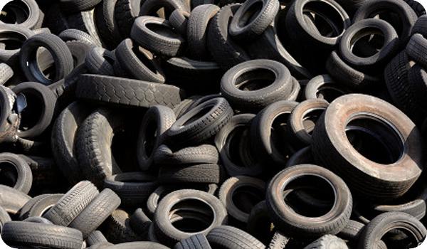 Los cauchos usados podrían transformarse en baterías para los autos eléctricos
