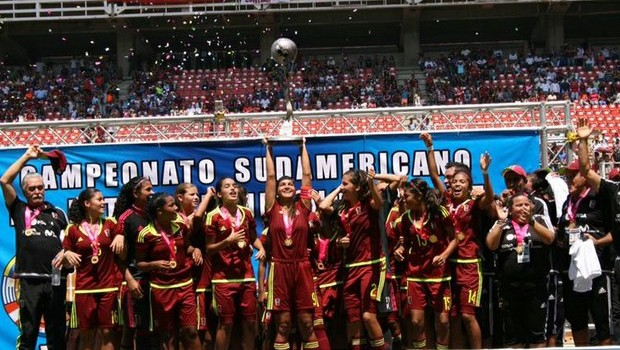 Venezuela bicampeona en el Suramericano Femenino de Fútbol sub-17